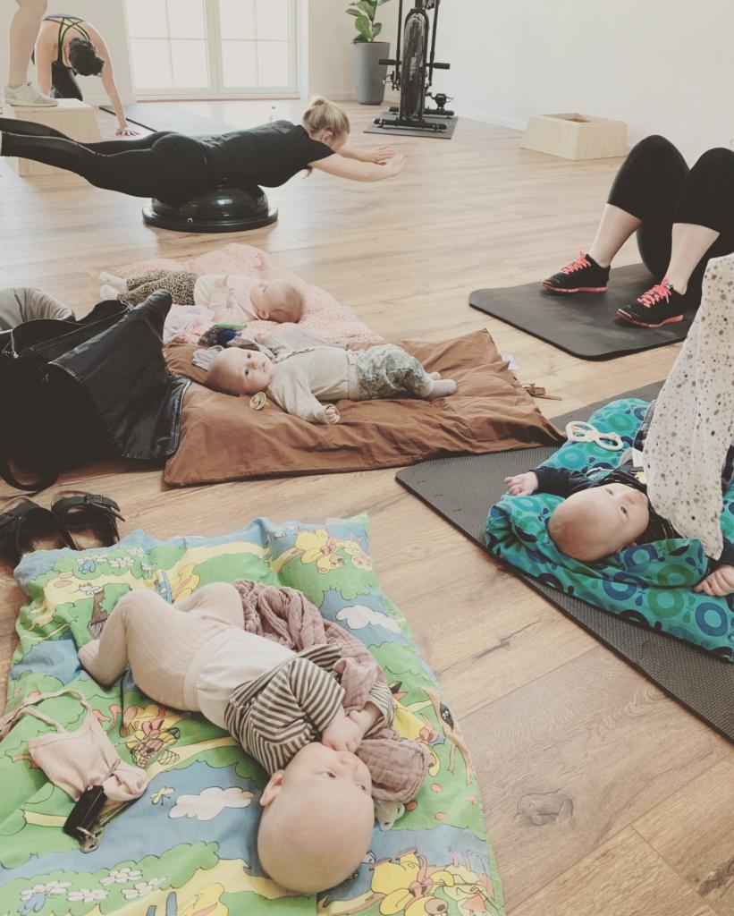 mor og barn træning
